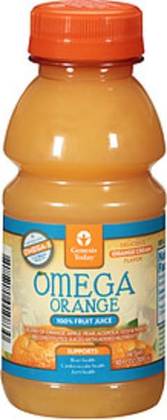Genesis Today Juice Drink Omega Orange