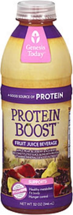 Genesis Today Fruit Juice Beverage Protein Boost