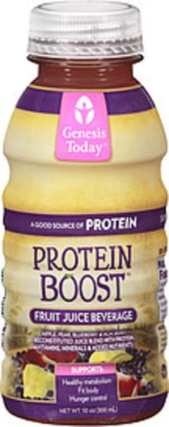 Genesis Today Fruit Juice Beverage Protein Boost Apple/Pear/Blueberry/Acai Berry