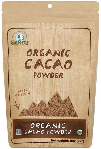 Natierra Organic Cacao Powder - 8 oz