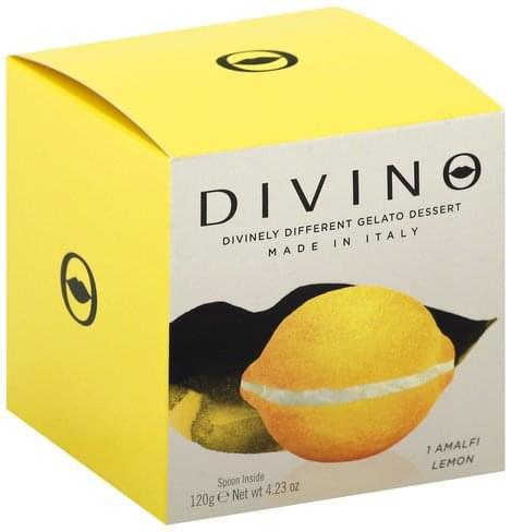 Divino Amalfi Lemon Gelato Dessert - 4.23 oz