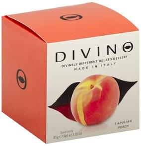 Divino Gelato Dessert Apulian Peach