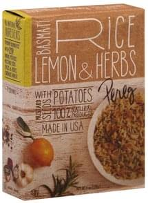Pereg Rice Basmati, Lemon & Herbs