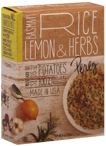 Pereg Basmati, Lemon & Herbs Rice - 6 oz