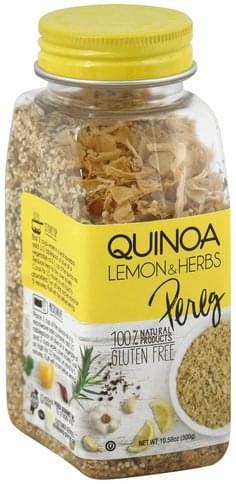 Pereg Lemon & Herbs Quinoa - 10.58 oz