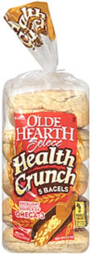 Olde Hearth Health Crunch Bagels - 14.25 oz
