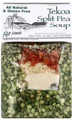 Rill Foods Tekoa Split Pea Soup - 16 oz