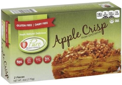 Pure Market Express Apple Crisp - 2 ea