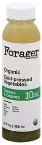 Forager Project Cold-Pressed Vegetables Greens & Greens