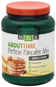 AboutTime Protein Pancake Mix Maple Syrup