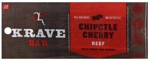Krave Beef Bar Chipotle Cherry