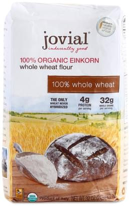 Jovial Organic Whole Wheat Einkorn Flour - 32 oz