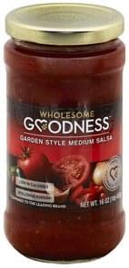 Wholesome Goodness Salsa Garden Style, Medium