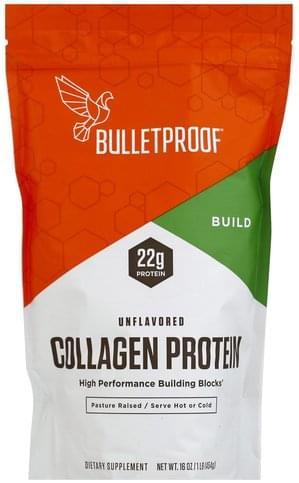 Bulletproof Unflavored Collagen Protein - 16 oz
