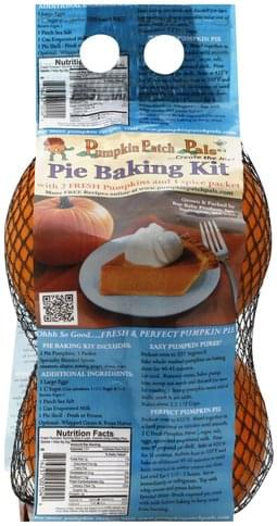Pumpkin Patch Pals Pumpkin Pie Baking Kit - 1 ea