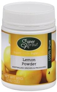 Super Sprout Lemon Powder