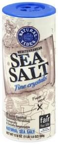 Natural Tides Sea Salt Mediterranean, Fine Crystals