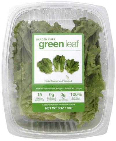 Garden Cuts Green Leaf Lettuce - 6 oz