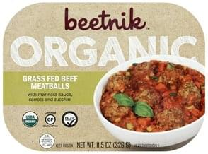 Beetnik Grass Fed Beef Meatballs Organic