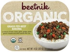 Beetnik Grass Fed Beef Kheema Organic