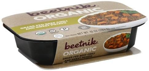 Beetnik Organic Grass Fed Beef Chili and Sweet Potato - 10 oz