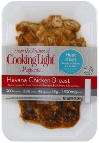 Cooking Light Havana Chicken Breast - 9.5 oz