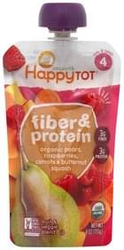 Happy Tot Fruit & Veggie Blend Fiber & Protein, Tots & Tykes 4