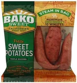 Bako Sweet Sweet Potatoes Petite