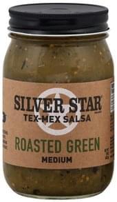 Silverstar Salsa Medium, Roasted Green