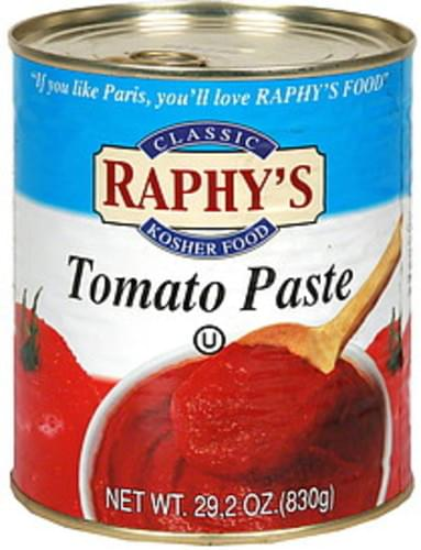 Raphys Tomato Paste - 29.2 oz