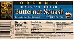 Wholesome Garden Butternut Squash