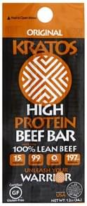 Kratos Beef Bar High Protein, Original
