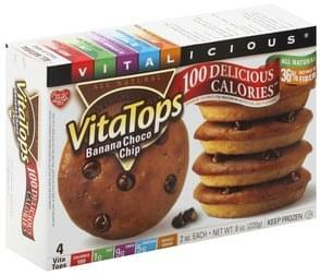Vitalicious VitaTops Banana Choco Chip