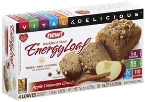 Vitalicious Energy Loaf Apple Cinnamon Crumb