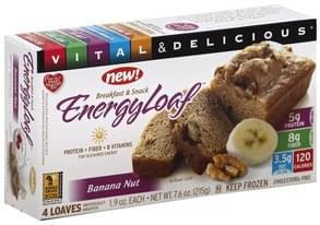 Vitalicious Energy Loaf Banana Nut