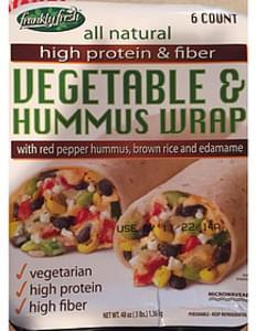 Frankly Fresh Vegetable & Hummus Wrap