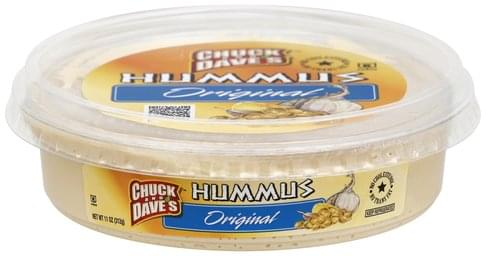 Chuck And Daves Original Hummus - 11 oz