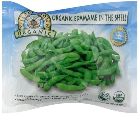 Village Grown Edamame in the Shell - 10 oz