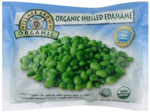 Village Grown Shelled Edamame - 10 oz