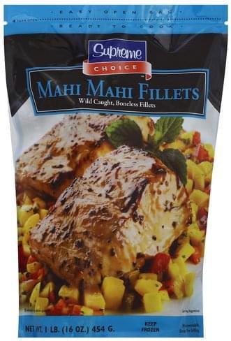 Supreme Choice Boneless, Fillets Mahi Mahi - 16 oz