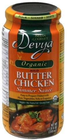 Devya Mild Butter Chicken Simmer Sauce - 11.8 oz