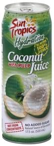Sun Tropics Juice Coconut, with Pulp