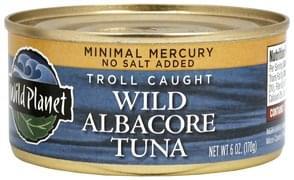 Wild Planet Wild Albacore Tuna Troll Caught