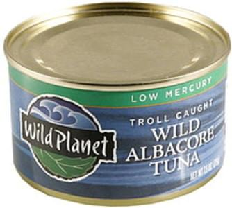 Wild Planet Wild Albacore Tuna Low Mercury