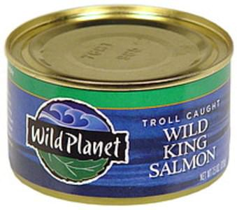 Wild Planet Wild King Salmon Wild Kind Salmon, Troll Caught