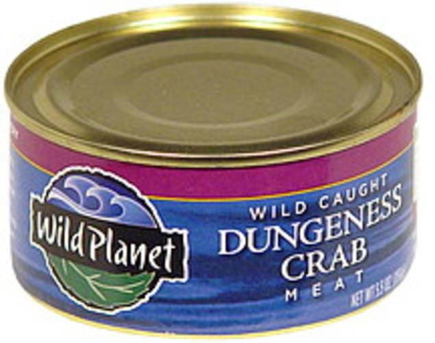 Wild Planet Wild Caught Dungeness Crab Meat - 5.5 oz