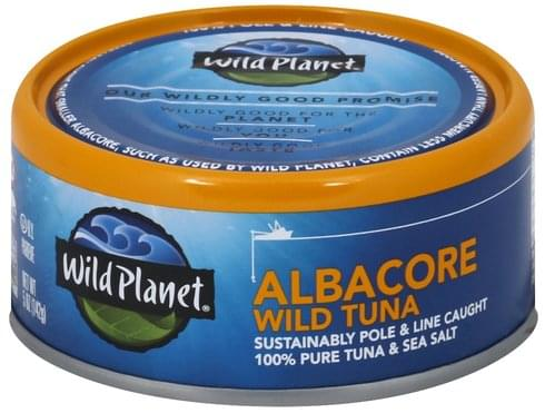 Wild Planet Wild, Albacore Tuna - 5 oz