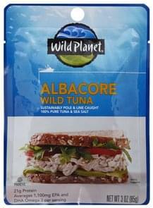 Wild Planet Tuna Wild, Albacore