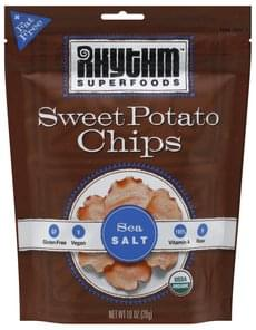 Rhythm Superfoods Chips Sweet Potato, Sea Salt