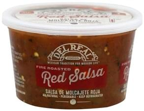 Del Real Salsa Red, Fire Roasted